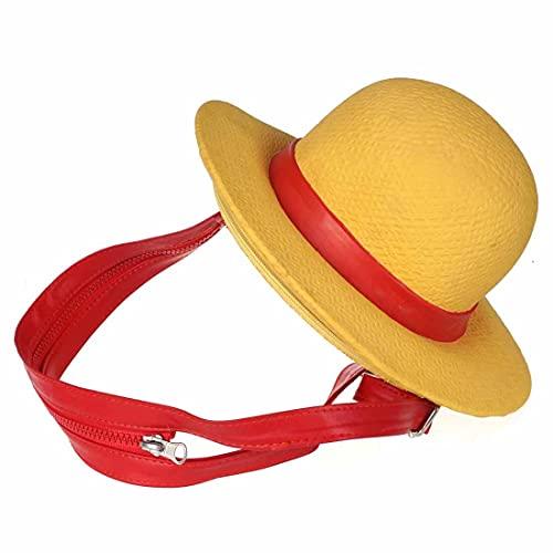 Zaino a forma di cappello di paglia di Monkey D. Ruffy