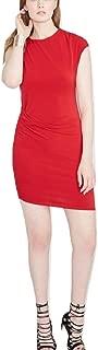 RACHEL Rachel Roy Womens Asymmetric Evening Special Occasion Dress Red M