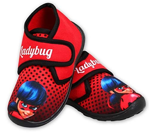 Trendstern Miraculos Ladybug - Zapatillas para niña...