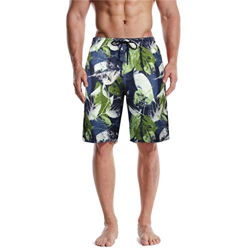 FRAUIT Shorts Heren Sport zomer tas Hawaii strand zwembroek losse draadloze zwembroek korte broek fitness broek zwembroek casual feestelijk party shorts M-5XL