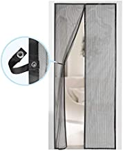 Magnetic Screen Door - Self Sealing, Heavy Duty, Hands Free Mesh Partition Keeps Bugs Out - Pet and Kid Friendly - Patent Pending Keep Open Feature - 38