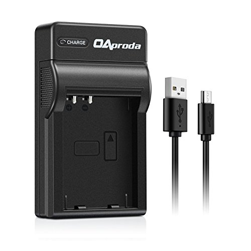 OAproda BLN-1 Replacement Ultra Slim Micro USB Battery Charger for Olympus BLN1 Battery, OM-D E-M1, OM-D E-M5, OM-D E-M5 Mark II, Pen E-P5 Digital Cameras, Replace for BCN-1 Charger