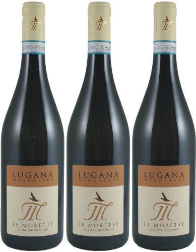 Lugna Mandolara - Le Morette - weiß - trocken - 12,5%vol. - 3er-Pack