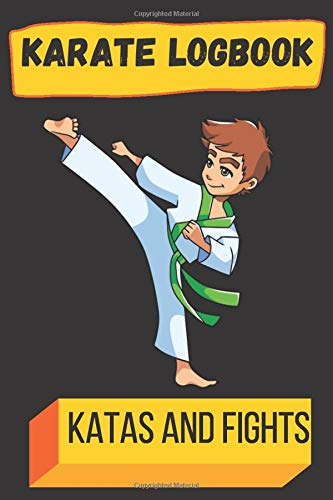 karate logbook Katas and fights: Draw the movements of your kata - Write the history of your victory and defeat battles.