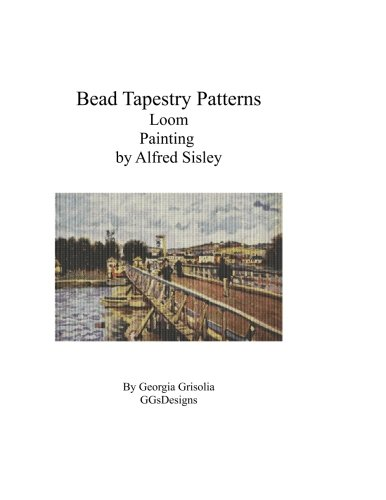 Bead Tapestry Patterns Loom Painting by Alfred Sisley
