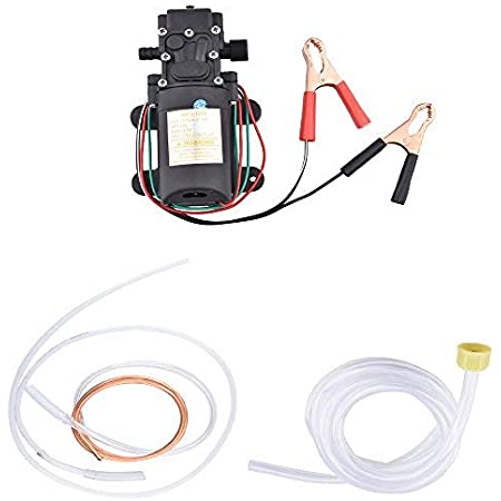 Portable DC 12V Electric Transfer Pump Extractor Suction Oil Fluid Water For Auto Marine Boat Diesel Car Motorbike