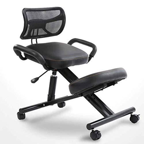 Buy Discount Adjustable Work Chair with Handles, Kneeling Chair for Office, Ergonomic Posture Knee D...