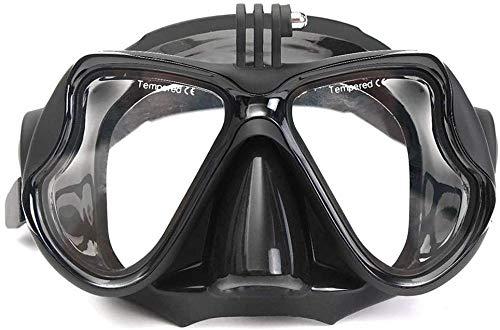 PANXIA Tauchmasken Camera Mount Tauchmaske Oceanic Scuba Schnorchel Schwimmbrille Brille Für Action-Kamera
