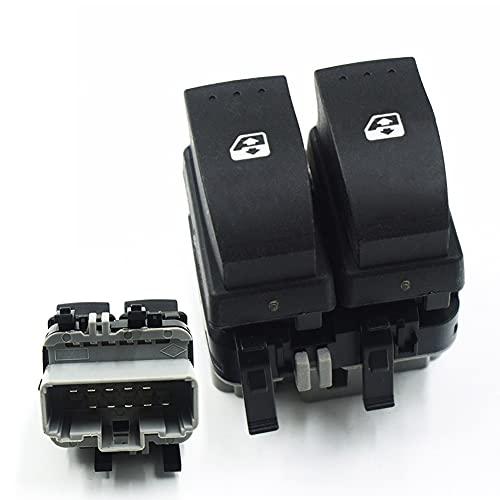 Interruptor de elevalunas para el lado del conductor, 10 pines, 8200315042 para Megane II Scénic II Espace MK IV Laguna MK II
