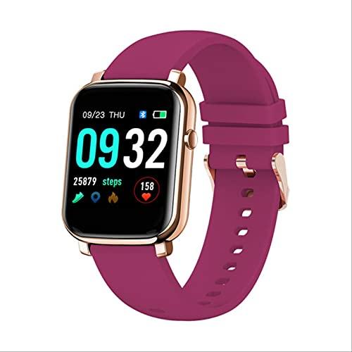 Lsthnm Reloj Inteligente, Rastreador De Ejercicios con Oxígeno En Sangre, Presión Arterial, Monitor De Frecuencia Cardíaca, para Teléfonos Android iOS