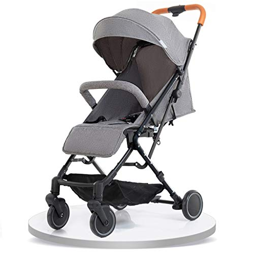 Find Bargain XYSQ Newborn Baby Stroller for Infant Folding Convertible Baby Carriage - Pushchair Str...