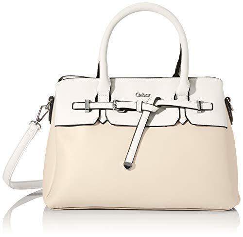 Gabor Shopper Damen, Beige, Arica, 32x13x24,5 cm, Handtasche, Umhängetasche