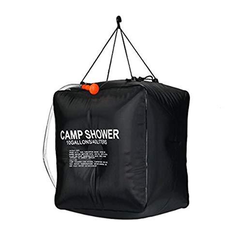 ZYCX123 40L Camping PVC Dusche Tasche Solaranlage für warmes Wasser-Rohr-Portable für Outdoor Wandern Outdoor-Camping-Zubehör