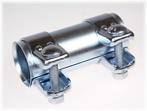 BayWorld Auspuff Universal Rohrverbinder 45x49,5x125mm Doppelschelle 45x125mm
