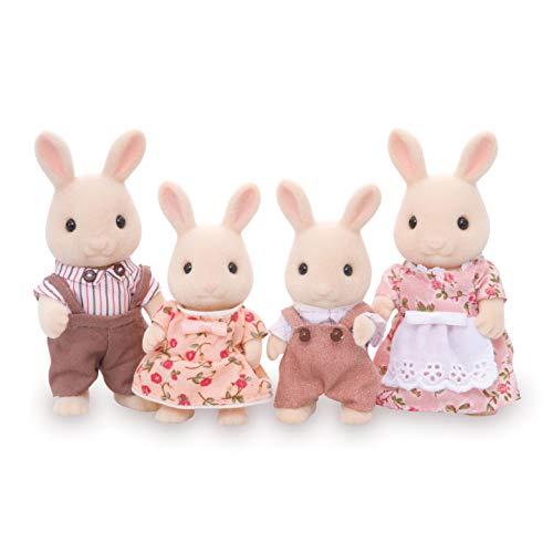 Calico Critters, Sweetpea Kaninchenfamilie Puppen Puppenhaus Figuren Sammelspielzeug