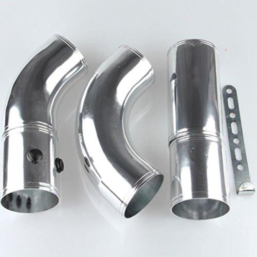 Ting Ao Universel 7,6 cm Aluminium Filtre à air Turbo d'admission Passepoil Intercooler Tuyau Flexible de Lot de