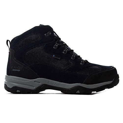 Hi-Tec Storm WP, Zapatillas para Caminar para Hombre, Capitán del Cielo/Monumento/Negro, 41 EU