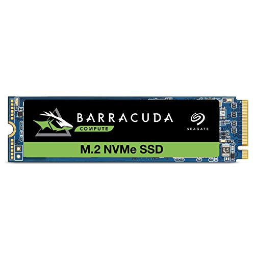 Seagate Barracuda 510 SSD, Festplatte 256 GB, bis zu 3.100 MB/s, 3D TLC NAND, PCIe Gen3 ×4, NVMe 1.3 Solid State Drive, Retail Pack, Modellnr.: ZP256CM30041