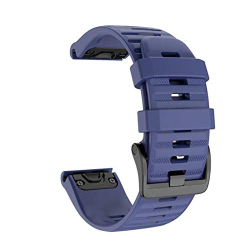 CGGA 26 22mm Quick Release Watchband For Garmin Fenix 6 6X Pro 5 5X Plus 3HR Silicone Band Fenix 6 Fenix 5 Watch for Easyfit Wrist Strap Watch strap