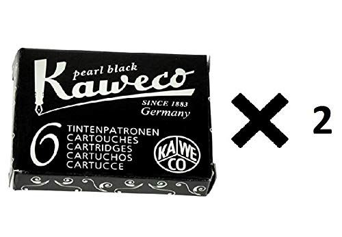 Kaweco Tintenpatronen, Schwarz, 2 Stück