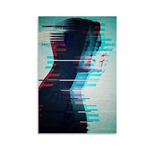 Póster de dibujos animados Mr Robot para imprimir las bellas artes, carteles creativos, carteles de innovación, lienzo y arte de pared, impresión moderna para dormitorio familiar, 40 x 60 cm