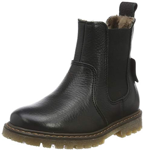 Bisgaard Mädchen Neel Chelsea Boots, Schwarz (Black 200), 36 EU