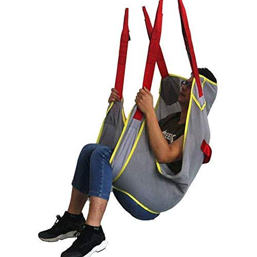Z-SEAT Toilettenschlinge Patientenlift, Hebezeuge Bariatric Handicap Lift Commode Sling Patientensitzen Transfergürtelschaltmaschine für Senioren Bettlägerige Behinderte Fe