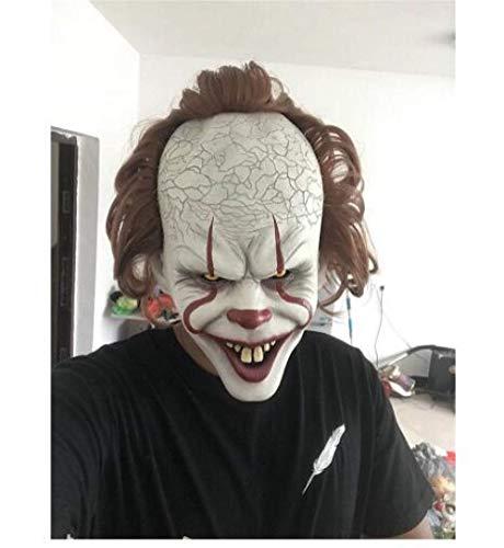 Yichener Stephen King'S It máscara de Payaso de Terror Pennywise máscara de Payaso Payaso máscara de Payaso Halloween Cosplay Costume Props