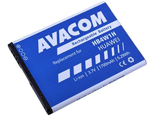 Batería para Huawei G510 (Ion de Litio, 3,7 V, 1700 mAh, Recambio HB4W1H)