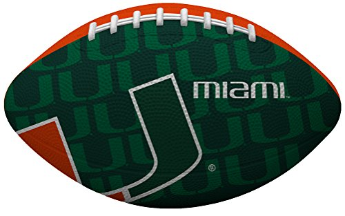 NCAA Gridiron Junior-Size Youth Football, Miami Hurricanes