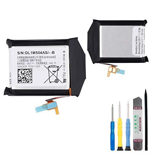 E-yiiviil EB-BR760ABE - Batería de repuesto para Samsung Gear S3 Frontier, S3 Classic SM-R760, R765, R770 (con herramientas)