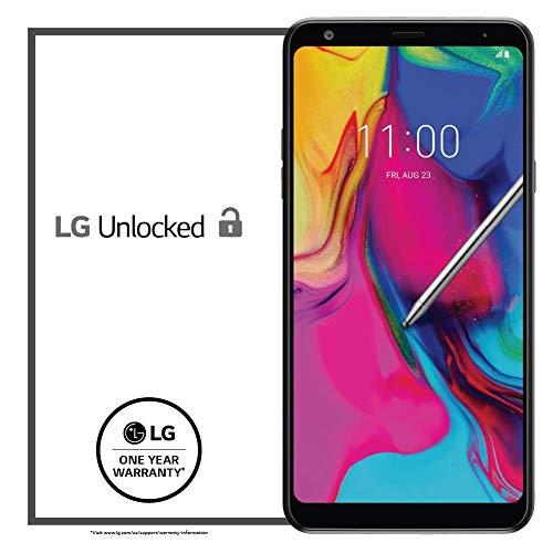 """LG Stylo 5 Factory Unlocked Phone - 6.2"""" Screen - 32GB - Black (U.S. Warranty)"""
