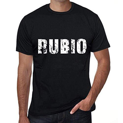 One in the City Rubio Hombre Camiseta Negro Regalo De Cumpleaños 00550