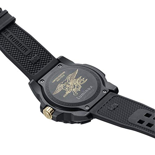 Luminox3500シリーズ限定番号入りエディションゴールドメンズ腕時計セット3501ゴールド