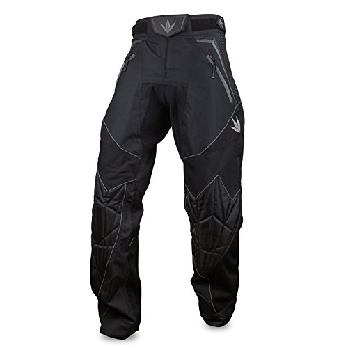Bunker Kings V2 Supreme Paintball Pants (Large (LG), Black)