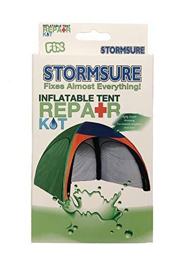 Stormsure RKBOXTENT Storm zeker opblaasbare tent en luifel reparatie Kit-wit