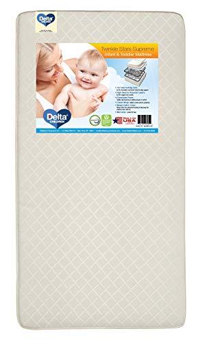 Delta Children Twinkle Stars Supreme Crib and Toddler Mattress