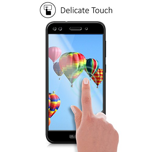 kalibri Huawei Y6 Pro (2017) / Enjoy 7 Folie - 3D Glas Handy Schutzfolie für Huawei Y6 Pro (2017) / Enjoy 7 - Auch für gewölbtes Display - 5