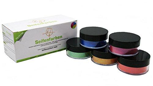 Lyt Premium Seifenfarben-Pulver aus Mineralien (für Seifen, Epoxidharz und Badebomben geeignet) - 100% vegan und hautverträglich