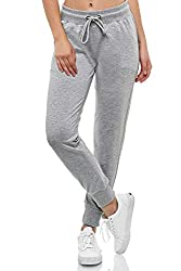 Smith & Solo Women's Jogging Bottoms - Sports Trousers Women Cotton   Sweatpants Slim Fit Casual Trousers Long   Training Trousers Fitness High Waist - Jogger Running Trousers Modern - Grey - Medium