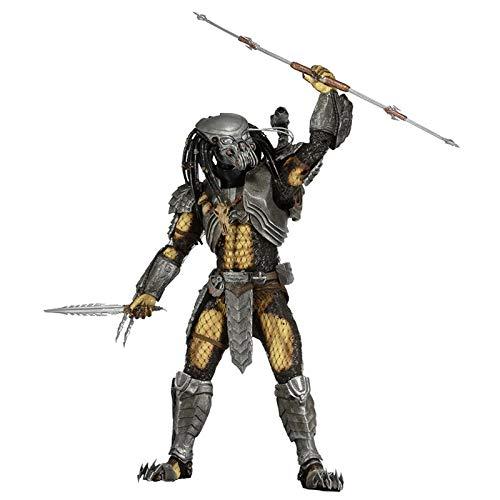 ZYZYY HZAhuang Alien vs. Predator 7' Scale Action Figure Series 14 Celtic PVC Toy Model Statue Gift Boxed