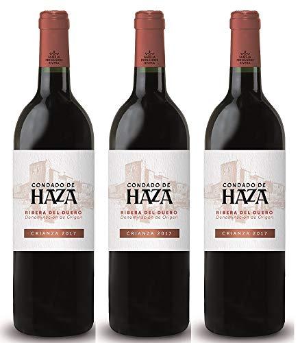 Condado de Haza Crianza Ribera del Duero 2017 - Grupo Pesquera Wein (3 x 0.75 l)