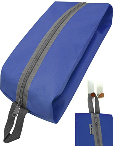 Outdoor Saxx® - campingtas tent tas schoenentas kledingtas uitrusting tas toilettas, ritssluiting duurzaam, 35x15x10cm, blauw