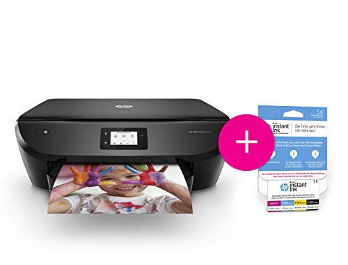 HP ENVY Photo Multifunctionele printer Bundel: 1 jaar afdrukken 13 Seiten/Min + SW-Touchscreen Bundel: 1 jaar gratis afdrukken