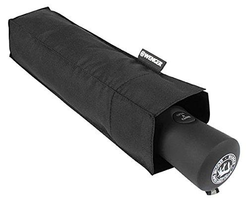 Wenger Regenschirm Doppelnylon-Partnerschirm (Schwarz) W1100