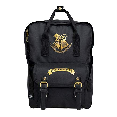 Harry-Potter-Kids-Backpack-Hogwarts-Boys-Girls-Unisex-School-Bag-Children-Canvas-Daypack-Camping-Rucksack-Spacious-Sleepover-Holiday-Laptop-Satchel