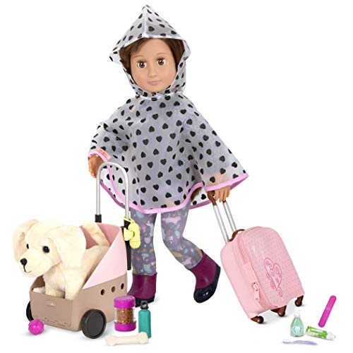 Our Generation- Passenger Pets- Playset, Accessory Set for 18-inch Dolls and Their Pets- Suitable for Ages 3+
