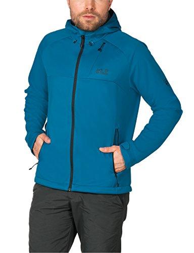 Jack Wolfskin Herren Softshelljacke Sonic Barrier Jacket M, Dark Turquoise, XL