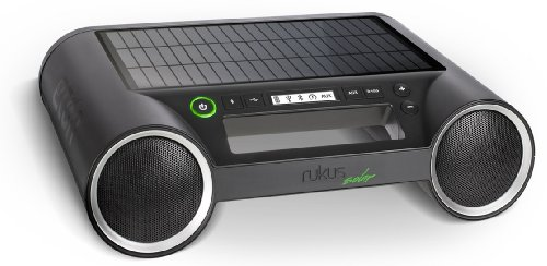 Portable Solar Powered Wireless Speaker System