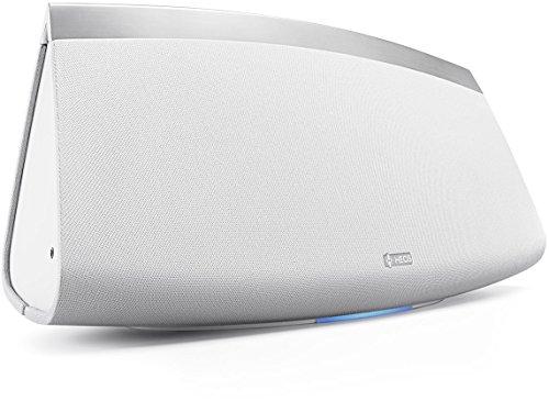 Denon HEOS 7 HS2 Audio-streaming Lautsprecher (Multiroom, Amazon Music, Spotify connect, Deezer, Tidal, Soundcloud, NAS, Bluetooth integriert, WLAN, USB, Appsteuerung, Aux-In, Kopfhörerausgang) weiß